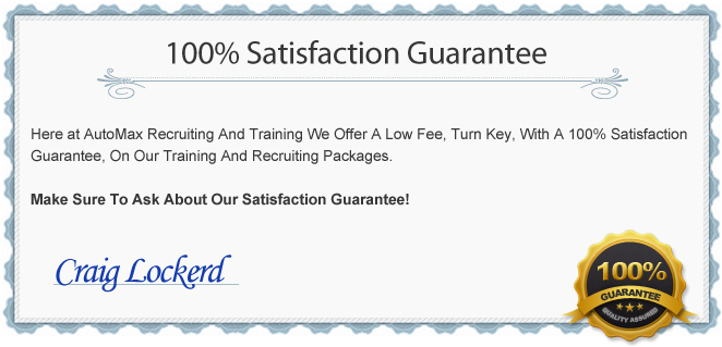 At Automax Recruiting And Training We're Dedicated To Training Your Automotive Salespeople The Right Way